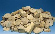 Wooden Spindles, Turnings, Shapes, 10-lb.