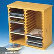 Unfinished CD Storage Rack, Unassembled