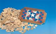 Assorted Wood Shapes (pack of 200)