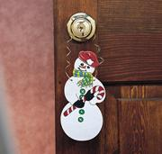 Christmas Doorknob Hangers Craft Kit (makes 24)
