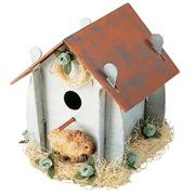 Unfinished Flat-Bottom Birdhouse, Unassembled (pack of 12)