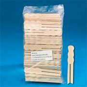 Clothespins, Large Flat, 3-3/4&quot;  (pack of 100)