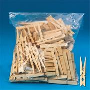 "Clothespins, Spring, 2-3/4""  (pack of 100)"