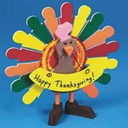 Unfinished Wooden Turkey (pack of 6)