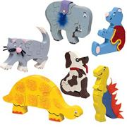 Unfinished Animal Puzzles (pack of 6)