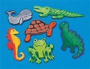 Unfinished Wooden Cutouts, Animals (pack of 36)