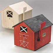 Unfinished Wooden Mailbox