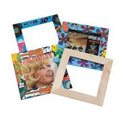 Unfinished Wooden Frames (set of 3)