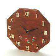 Wood Block Clock, Unfinished
