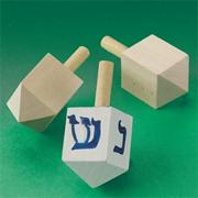 Wood Dreidel (pack of 24)