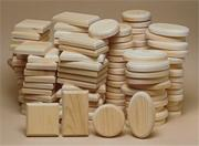 Unfinished Medium Plaque Assortment (pack of 72)