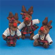 Christmas Reindeer Key Chain  (pack of 12)