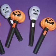 Light Up Halloween Wands  (pack of 12)