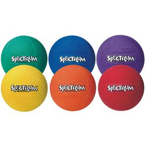 8-1/2&quot; Spectrum Playground Balls  (set of 6)